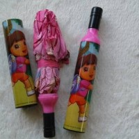 Jual Payung Botol motif Dora The Explorer Murah