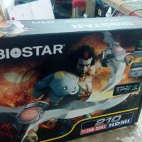 BIOSTAR VN2102NH56 VGA CARD NVIDIA GeForce 210 ( 512MB DDR2 64bit )