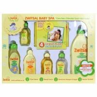 Jual Zwitsal Baby Spa Gift Box / Baby Gift Set Zwitsal Murah