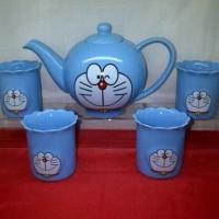 Jual Tea Set Doraemon Murah