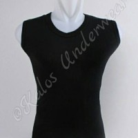 Kaos Sleeveless/Tank Top Pria V Neck Warna Crocodile Isi 2