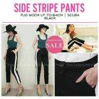 Jual SIDE STRIPE PANTS / CELANA ZARA PANTS TRAINING PANTS ADIDAS BERSHKA Murah