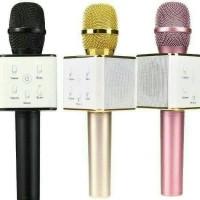 Jual Mic Q7 Mic Smule Mic wireless mic impor mic keren mic bernyanyi Murah