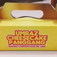 Jual Cheesecake Panggang Paket Hampers Isi 3 Jar Murah