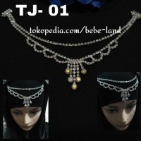 HEADPIECE HIJAB BROSS HIASAN DAHI ALA INDIA TJ-01