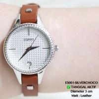 Jam tangan esprit tali kulit termruah import grosir casual analog dkny