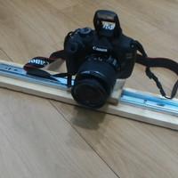 Slider untuk Kamera DSLR / Gopro Xiaomi | Camera Slider Dolly 50 cm
