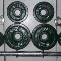 Jual 9 kg dumble/dumbbell/dumbell set,bukan barbell/barbel Murah
