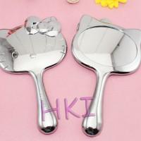 Jual Cermin Gagang Kepala Hello Kitty Silver Edition Murah