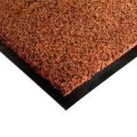 Karpet Keset Rumah Kantor warna coklat mix ukuran 50 x 90 cm
