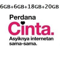 TRI CINTA 6GB (30GB)