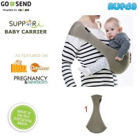(Size LL) Suppori Compact Comfortable Baby Sling
