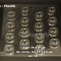 Jual Cetakan Coklat Durian 16 cav Plastik (Min Order 3 Pcs) CJ1709 Murah Murah