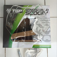 AKSESORIS MOTOR Visor Windshield Scoopy fi Scoopy Merk Tgp MURAH BAN