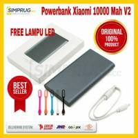 ORIGINAL Powerbank Xiaomi Mi 2 Pro Slim Fast 10000 MaH Power Bank Ori