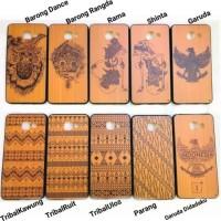 Harga hard soft wood case batik cover casing silicon xiaomi redmi note | Pembandingharga.com