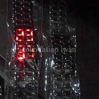Jual SPECIAL Jam tangan pria sports iron man Tokyo Red LED Samurai Black Me Murah