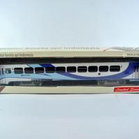 Jual miniatur kereta api - Gerbong Ekonomi AC KAI (Papercraft) Murah