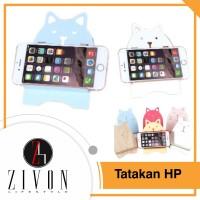Jual Dudukan HP/ Stand HP/ Tatakan HP karakter Kayu Zivon YA22 Murah