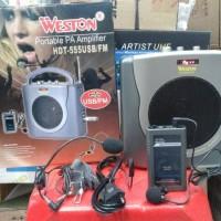 speaker meeting weston wireless USB/FM Clip on+headset