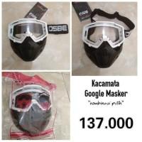 Jual Google Mask, Kacamata google Masker murah Trail Moge Bogo Retro Cakil Murah