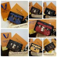 Clutch LV Petite semprem uk 19x5x12 free box + paper bag + serti + db