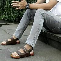 Jual DISKON SPESIAL!! Sepatu sandal/Sandal GDNS Brown/Sandal Jepit Original Murah