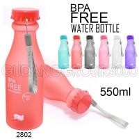 Jual Botol Minum Unik BPA Free 100% Anti tumpah (Doff 2802) Murah