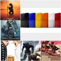 WD PASSPORT 1TB isi Paket FIlm BLURay dan 3d Box Office