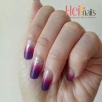 Jual nailsticker ombre glitter - stiker kuku HN0155 Murah