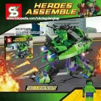 Sy 248 A-B Super Hero Avengers Sy248 Superhero Civil War Robot Tkl07