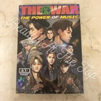 Harga ready stock exo the war repackage the power of music | Pembandingharga.com