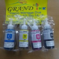 Tinta Original Epson 664 isi 1 set 4 warna (C, M, Y, Bk) utk printer L