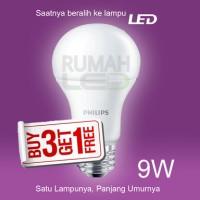 Paket Lampu LED Philips 9w Kepercayaan Keluarga Indonesia