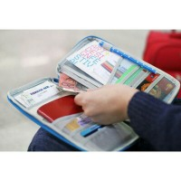 Jual Passport Travel Wallet Card Holder Organizer Dompet Kartu Serbaguna Murah