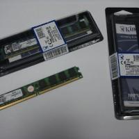 PREMIUM Memory PC Kingstone ddr2 2Gb BARU (Ram Komputer / Desktop ddr2