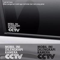 Harga Sticker Pengaman Mobil Dilengkapi Cctv Stiker Cutting Safety   WIKIPRICE INDONESIA