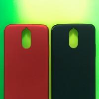 Hardcase PC Coating Dove Matte Red Hard Case Cover Casing LG Stylus 3