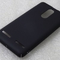 Hardcase PC Coating Dove Black Hard Case Cover Casing Lenovo K6 Power