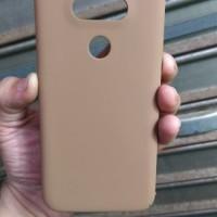 Hardcase Coating Dove Slim Cute Brown Hard Case Cover Casing LG G5 SE