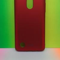 Hardcase PC Coating Dove Matte Red Hard Case Cover Casing LG K8 2017
