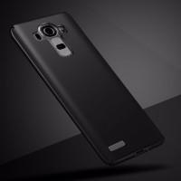 Hardcase Slim PC Coating Dove Matte Black Hard Case Cover Casing LG G4