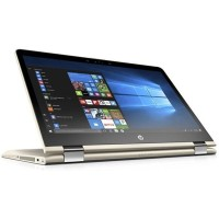 Notebook HP Pavilion X360 14-ba002TX - Gold i3-7100U/4Gb/1Tb/VGA 2Gb