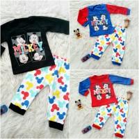 Piyama 4 mickey photos baju bayi anak