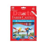 Pensil Warna Faber Castell // Water Colour // Free Kuas dan rautan