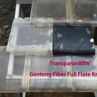 Genteng Transparan 88.W tipe Full Flat Kanmuri (2 lbr)