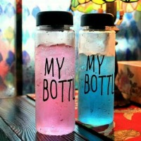 Jual Botol Minum Trendy my bottle korean style Premium free Punch Murah