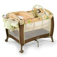 SUMMER INFANT Grow with Me Playard and Changer / Box Bayi / Baby Crib