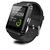 Jual I-One U8 Smartwatch For Android and iOS Merah Good Quality Murah