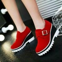Harga sepatu sandal wanita heels boot kanaya   WIKIPRICE INDONESIA